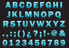 Ijs Type Vector Lettertype