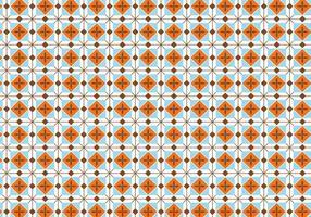 Vierkante Pastelpatroon Achtergrond vector