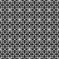 schattig bloemen abstract geometrisch bladpatroon vector