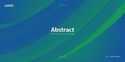 blauwe en groene abstracte vloeiende verloop achtergrond