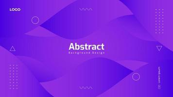 gradiënt paars abstract ontwerp als achtergrond vector