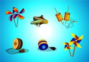 Traditionele Speelgoed Vector