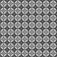 geometrische mandala naadloze bloemenpatroon