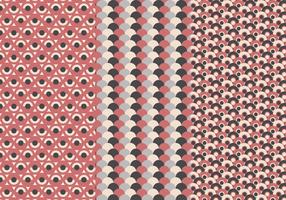 Gratis cirkel patroon vector