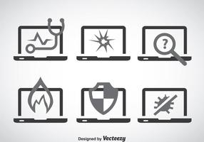 Notebook Service Pictogrammen