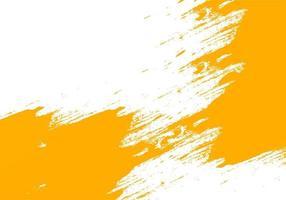 oranje grunge penseelstreek textuur richting centrum