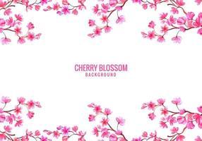 roze kersenbloesem achtergrond