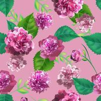 3D-realistische vintage rozen