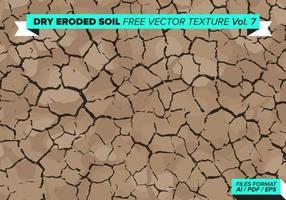 Droge Geërodeerde Boom Gratis Vector Textuur Vol. 7