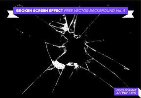 Gebroken Scherm Effect Gratis Vector Achtergrond Vol. 4