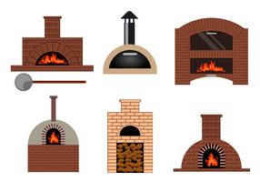 Gratis Pizza Oven Vector