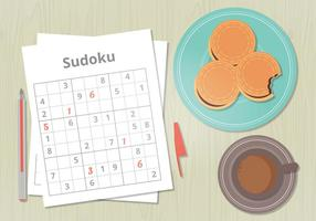 Vector Sudoku Spel