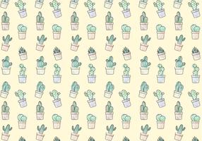 Gratis Cactus Patroon Vector