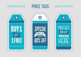 Gratis verkoop Tags Design