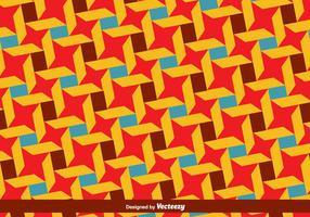 Vector Bauhaus Stijl Kleurrijk Patroon