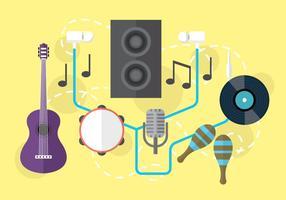 Audio Muzikale Vector Objecten