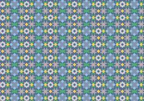 Abstract tegelpatroon vector
