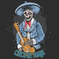 Cinco de Mayo overhemd ontwerp