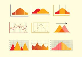 Bell curve vector