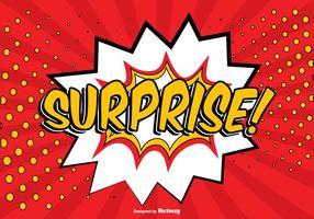Comic Surprise Illustratie