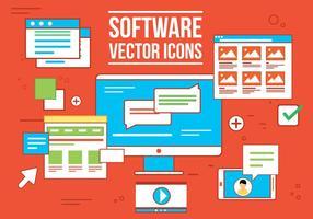 Gratis Vecor Software Icons vector