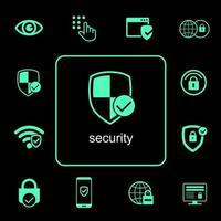 online beveiligingspictogrammen instellen