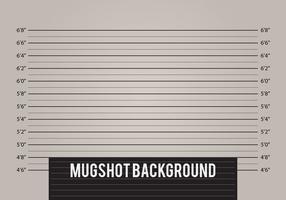 Mugshot Achtergrond Vector