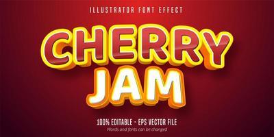 cherry jam tekst