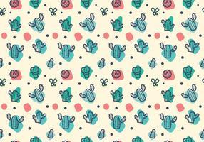Gratis Cactussenpatroon Vector