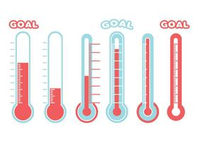 Doel Thermometer Vector