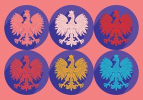 Poolse Eagle Vector