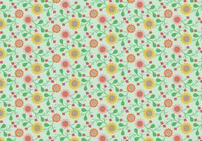 Bloemen Pastelpatroon vector