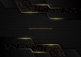 abstracte luxe donkere tech glitter achtergrond