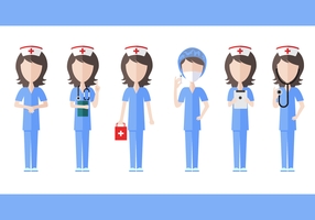 Gratis Nurse Vector