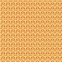 mooie oranje mooie patroon ontwerpsjabloon