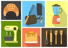 Gratis Keuken Pictogrammen vector