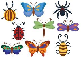 Gratis Bugs Vectoren