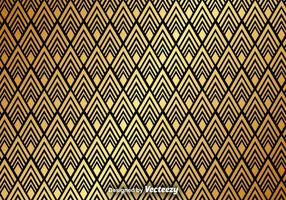 Gouden Abstract Patroon Vector Achtergrond