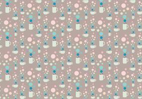 Bubble cups patroon vector