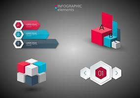 Gratis Infographics Elementen Vector