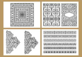 Klassieke kleurplaten vector