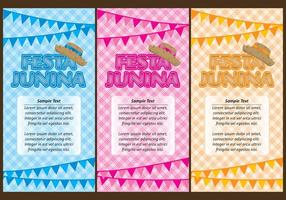 Festa Junina flyers