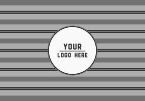 Gratis geometrische strepen Logo Achtergrond