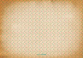 Oude Polka Dot Achtergrond vector