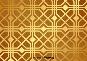 Gouden Vector Patroon