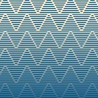 Modern Zig Zag Vector Patroon