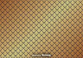 Vector Gouden Naadloos Patroon Op Zwarte Achtergrond