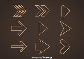 Overzicht Arrow Vector