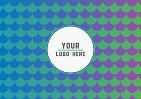 Gratis Fish Scales Logo Achtergrond