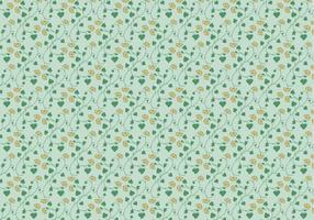 Bloemen Kantpatroon vector